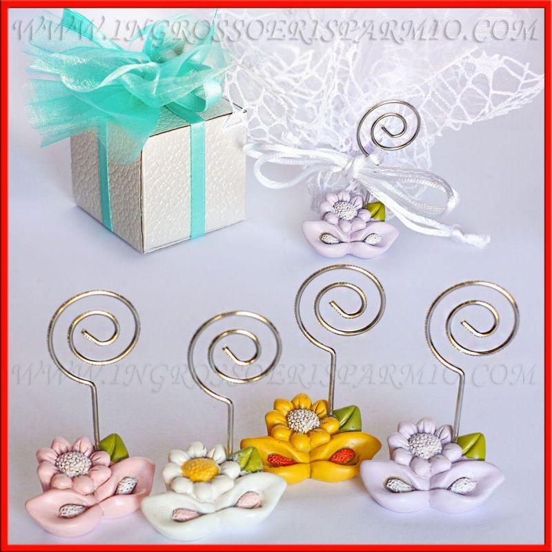 Memoclip portafoto fiori colorati in resina idee - Portafoto con molletta ...