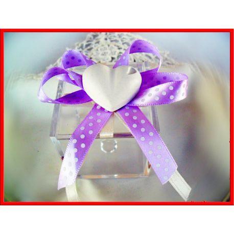 Confettata Matrimonio Scatola Plex + Gessetto Cuore