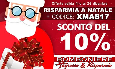 Promozione Bomboniere in Offerta Natale 2017