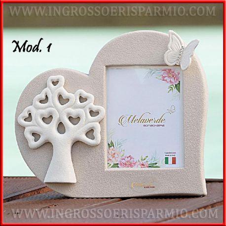 Bomboniere Cornici Matrimonio.Cornici Foto Bomboniere Albero Della Vita Porcellana Capodimonte