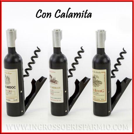 Bottiglie Bomboniere Matrimonio Prezzi.Apribottiglie E Cavatappi Originale A Forma Di Bottiglia Vino