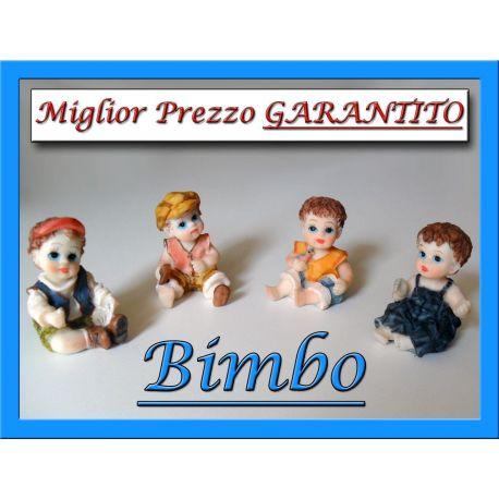 Bimbi in resina colorata Bimbo