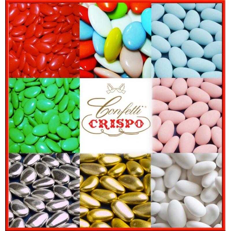 1kg confetti crispo prezzi on line bomboniere matrimonio for Vasi per confettata on line