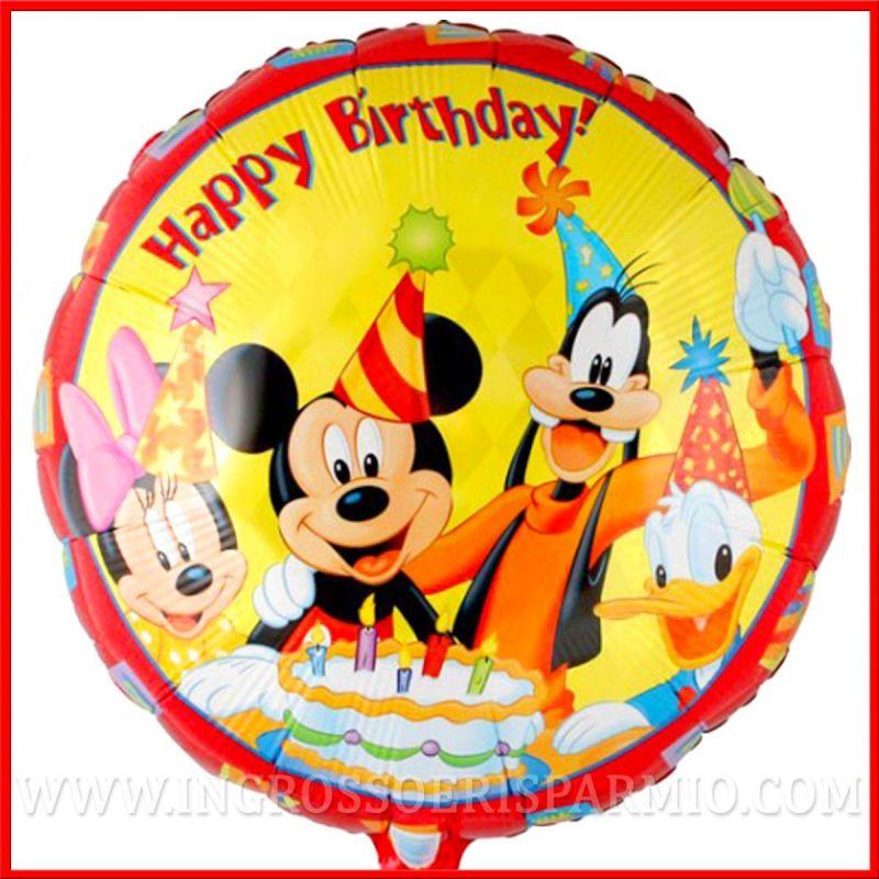 Palloncini topolino minnie paperino disney compleanno