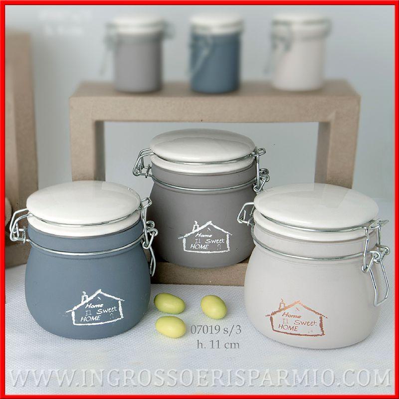 Barattoli in vetro e porcellana porta spezie sale zucchero utili ingrosso e risparmio - Barattoli vetro ikea ...