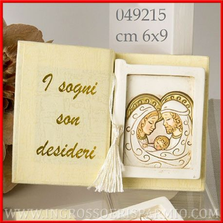 Icone Sacra Famiglia A Forma Di Libro Quadretti In Resina Ingrosso Ingrosso E Risparmio
