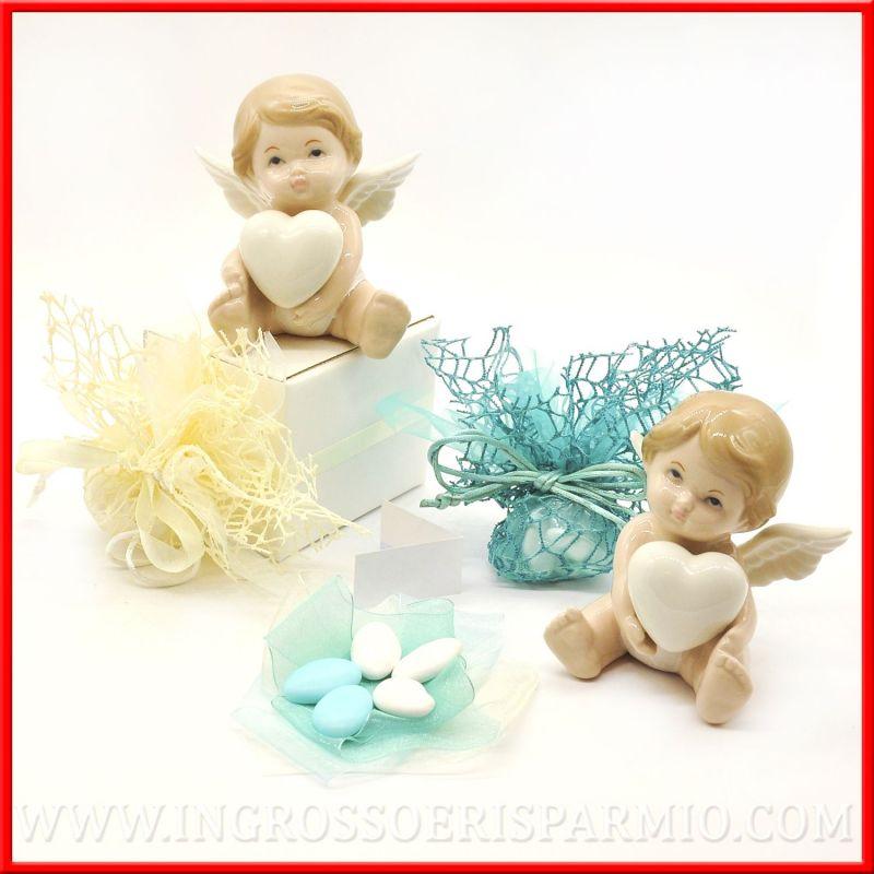 Angeli in porcellana per battesimo e comunione idee online for Idee online