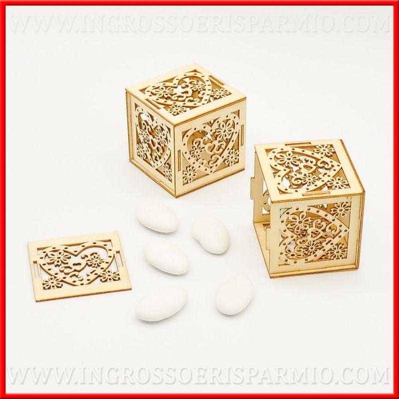 Matrimonio Tema Legno : Scatola portaconfetti in legno idee matrimonio