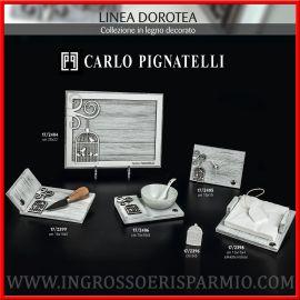 BOMBONIERE UTILI IN LEGNO DECORATO CON GABBIETTA CARLO PIGNATELLI