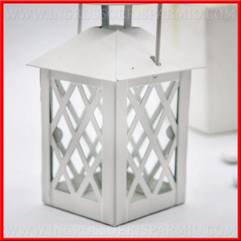 Moda lanterne bianche bomboniere gn14 pineglen for Lanterne bianche