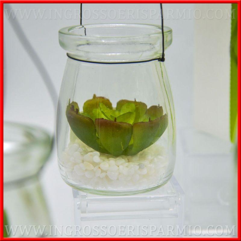 Matrimonio Tema Piante Grasse : Bomboniere piante grasse artificiali piccole in vasetto