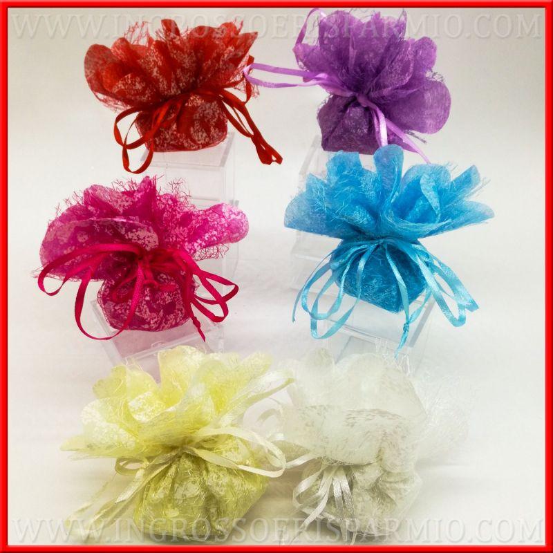 Confetti Bomboniere Matrimonio.Sacchetti Bomboniere Tnt Per Confetti Matrimonio Nascita