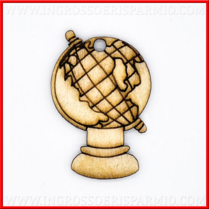 Legnetti decorativi mappamondo accessori confezione laurea for Accessori decorativi