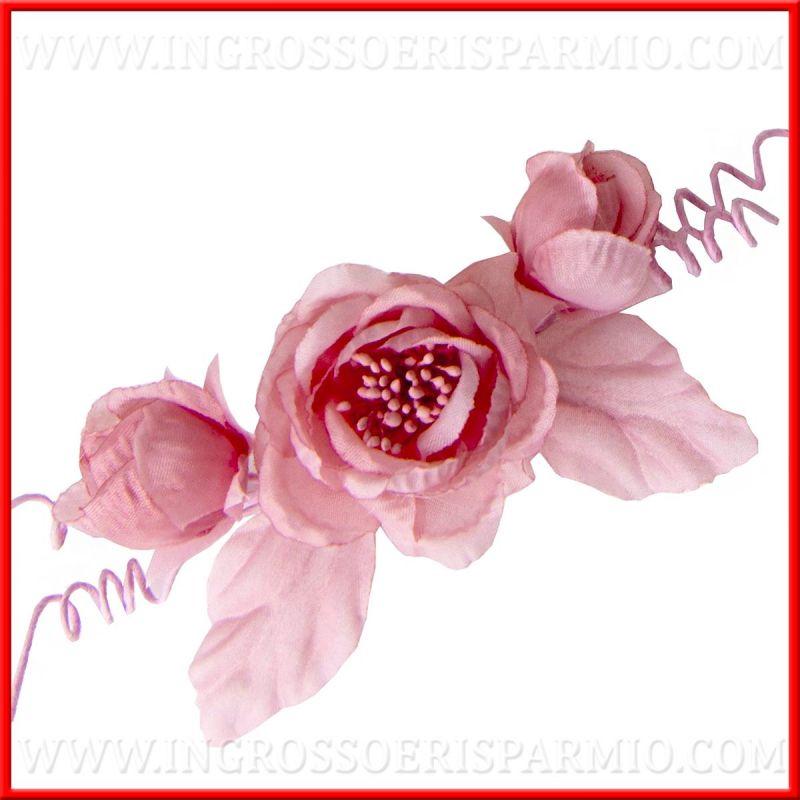 Fiori finti rosa grandi per decorazioni fai da te acquisto - Decorazioni fiori finti ...