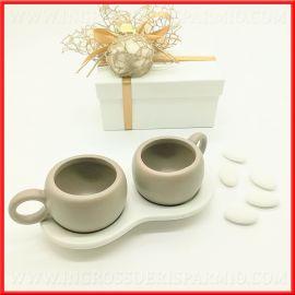 Bomboniere matrimonio anniversario 25 50 ingrosso for Tazzine caffe moderne