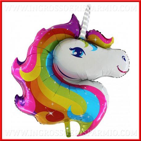 Palloncini A Forma Di Unicorno Colorato Per Addobbi Compleanno