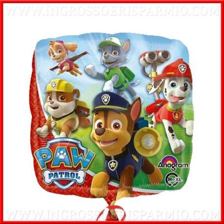 Palloncini per feste tema paw patrol addobbi compleanno for Addobbi per feste in piscina