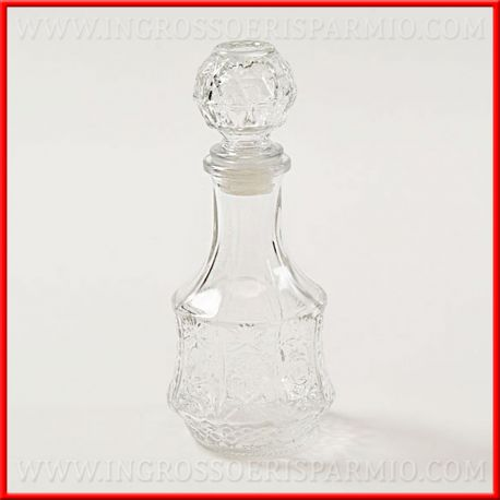 Bottiglie Bomboniere Matrimonio Prezzi.Bottiglie Vetro Per Liquori Tappo A Sfera Matrimonio Originali