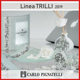 PIATTINO VETRO OROLOGIO E CORNICE LINEA CARLO PIGNATELLI MATRIMONIO