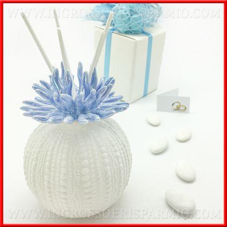 Bomboniere Matrimonio Mare.Profumatore Corallo Azzurro Per Idee Eleganti Matrimonio
