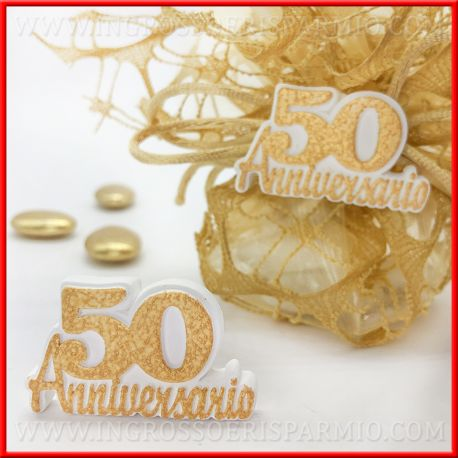 Anniversario Matrimonio 50 Anni.Gessi Decorativi Per Bomboniere 50 Anni Matrimonio Economiche